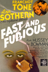 Fast and Furious 1939 DVD - Franchot Tone / Ann Sothern
